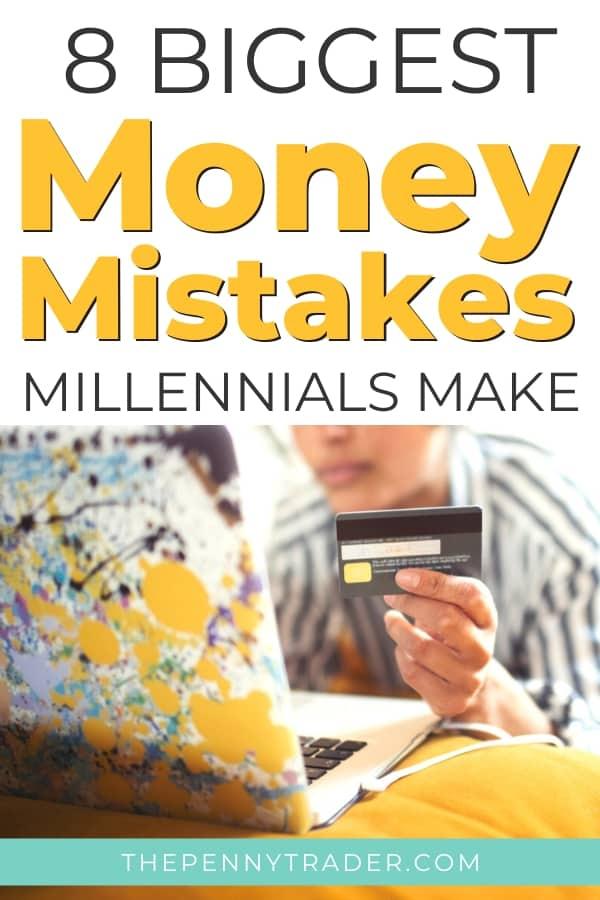 money mistakes millennial's make