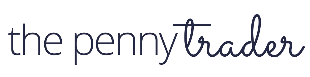 penny trader logo finance blog