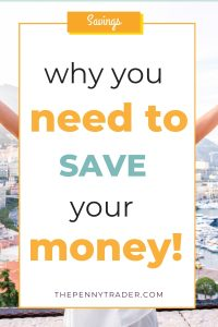 why its important to save money